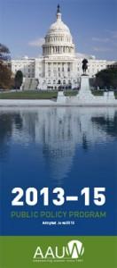 AAUW Public Policy Program Brochure cover art