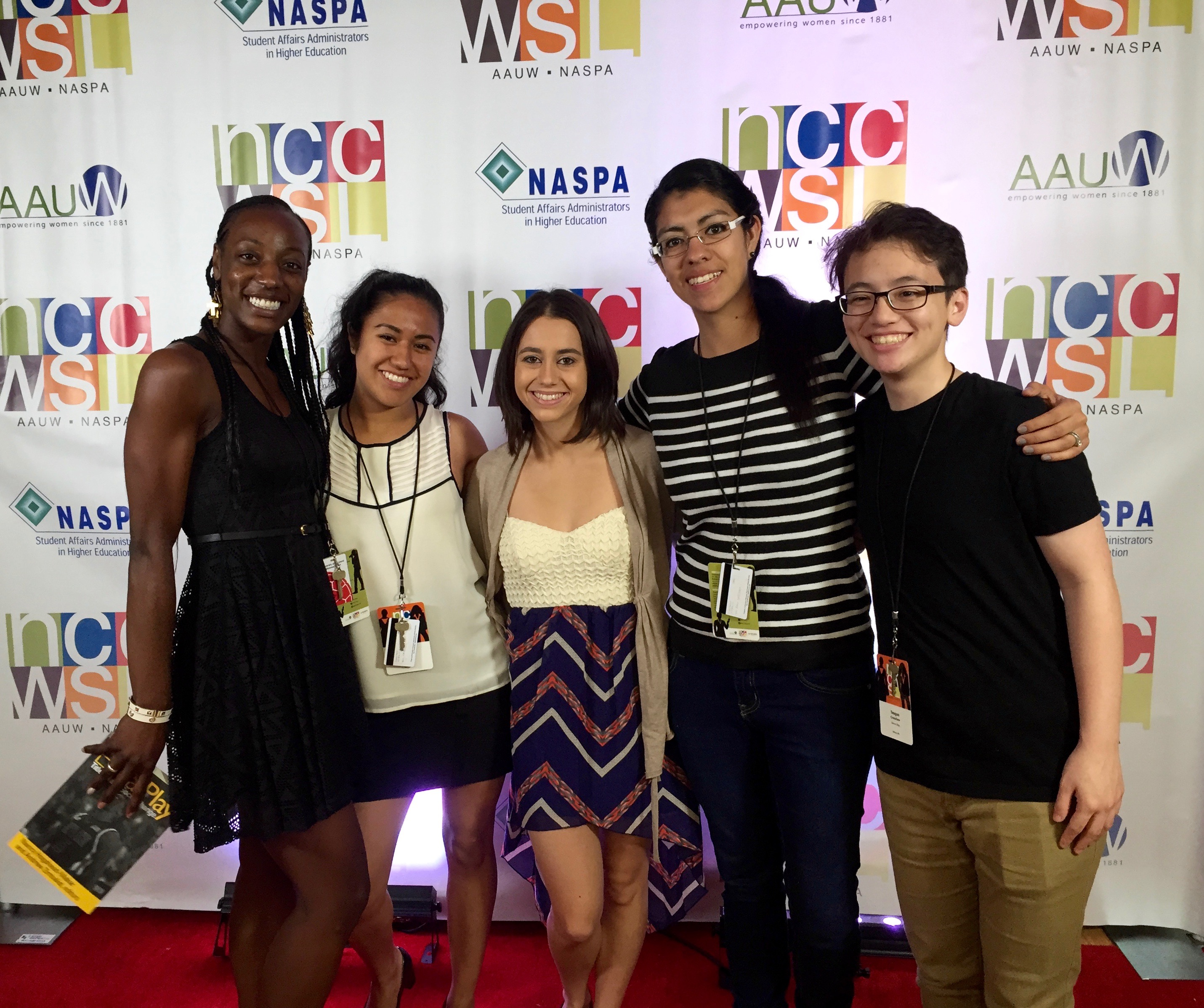 Steffini and NCCWSL Friends